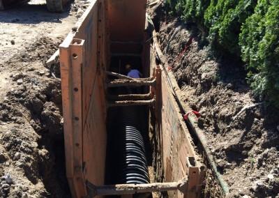 Gradnja kanalizacijskega omrežja
