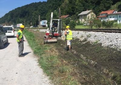 Škofljica - Ljubljana - čiščenje trase