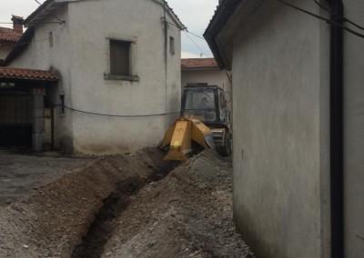 Izkop v naselju