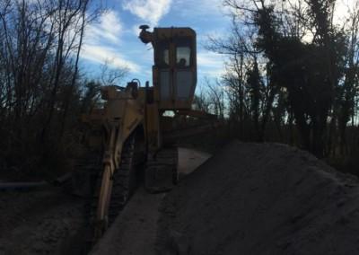 Izkop kanala s frezo