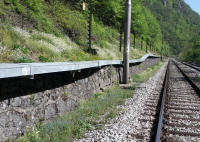 Korita za kabelsko kanalizacijo GSMR  Sava - Zagorje