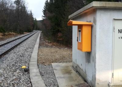 Telefonska govorilnica med ŽP Velike Lašče in Ortnek