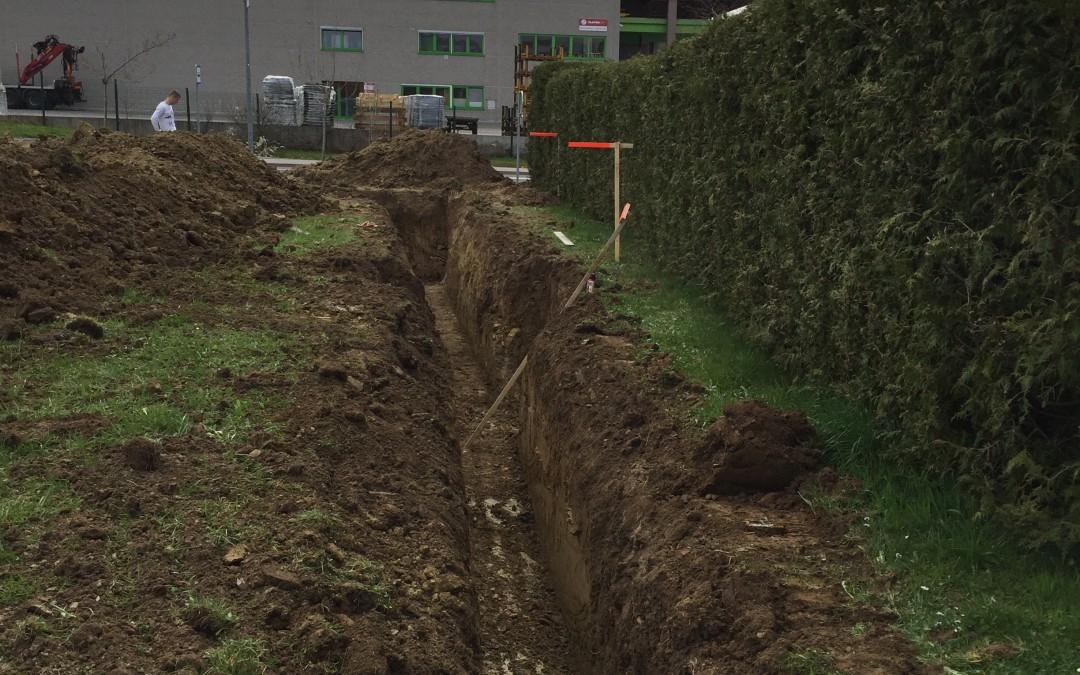 Urejanje kanalizacije v Kazarjah