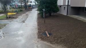 Gradnja telekomunikacijske kanalizacije (cevi in jašek) za izgradnjo optičnega široko pasovnega omrežja v blokovskekm naselju mesta Kamnik